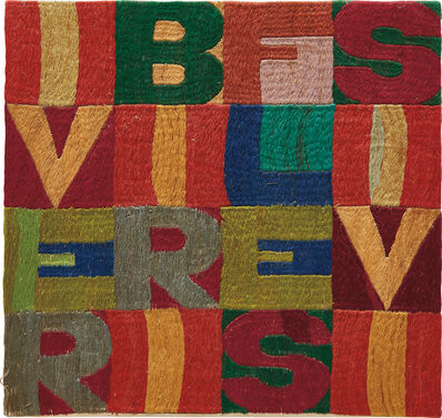 Alighiero Boetti, 'I verbi riflessivi', 1979