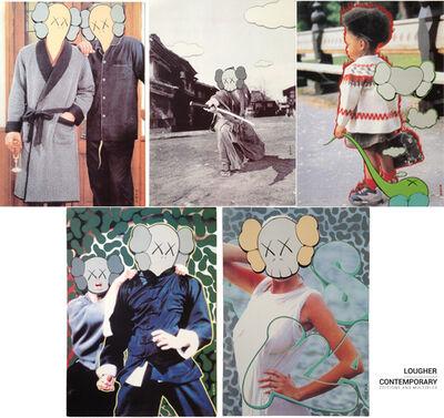 KAWS, 'KAWS x Undercover Set (Five Works)', 1999