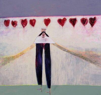 Mai Lashauri, 'Violet shoes', 2019