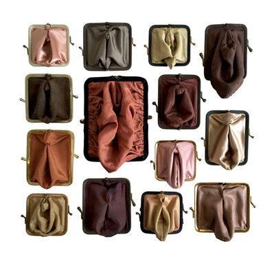 Suzanna Scott, 'Coin Cunts / flesh tones', 2015