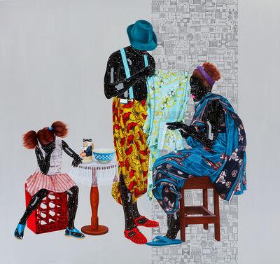 Eddy Kamuanga Ilunga, 'Fragile 5', 2018