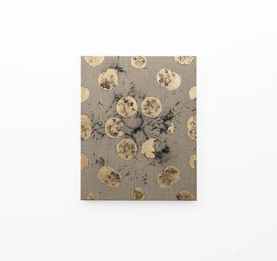 Pierre Vermeulen, 'Hair orchid sweat print, violet in geometry on hair orchid sweat print drawing', 2018