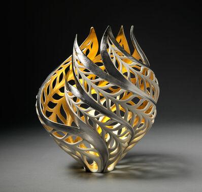 Jennifer McCurdy, 'Gilded Butterfly Vessel', 2018