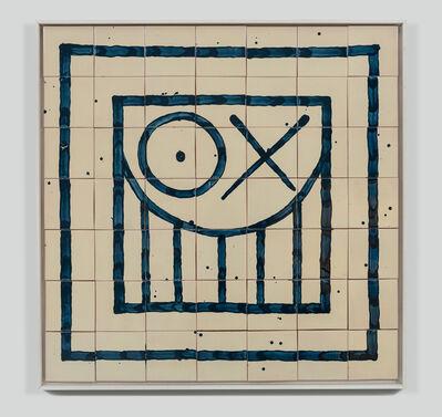 André Saraiva, 'Square Mr. A Tile 3', 2018