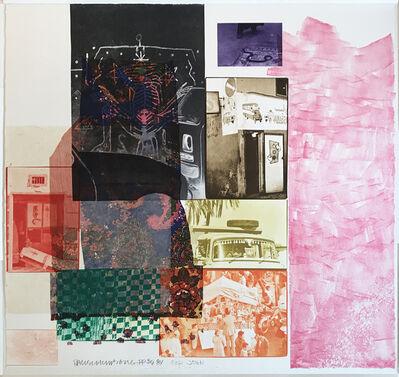 Robert Rauschenberg, 'Glint', 1984