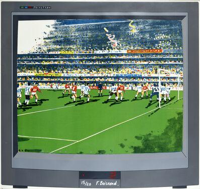 François Boisrond, 'Télévision, match de foot'