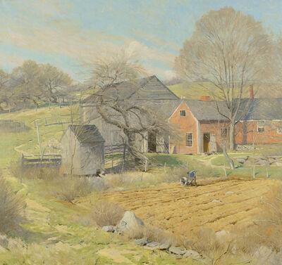 Ogden Minton Pleissner, 'Red House, Rindge, NH', ca. 1932-35