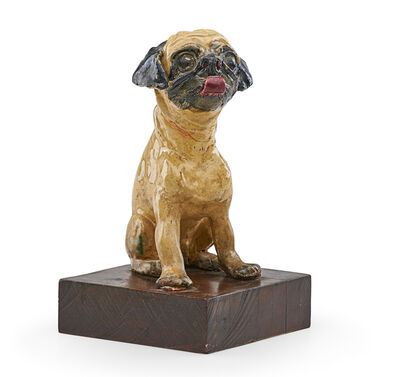Dolly Moore, 'Untitled (Figure of a pug dog)', mid 20th c.