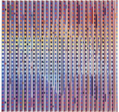 Yaacov Agam, 'Star of David - kinetic art by Yaacov Agam', 1983