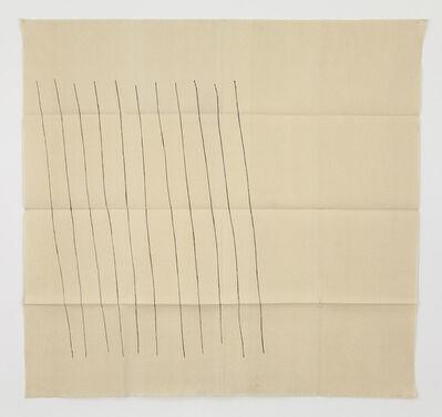 Giorgio Griffa, 'Obliquo', 1970