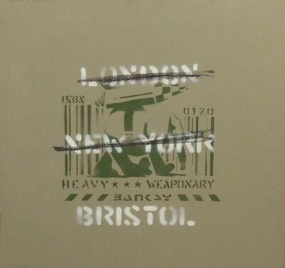Banksy, 'London, New York, Bristol (Heavy Weaponry)', 2000