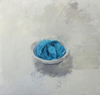 Alberto Romero, 'Cuenco con trapo azul', 2017