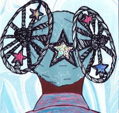 Tanekeya Word, 'Supernova Study: no. 03', 2020