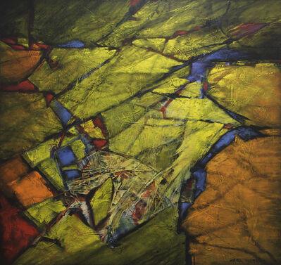 Carl Morris, 'Tilted Plates', 1990
