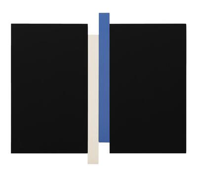 Scot Heywood, 'Arupa – Black, Blue, Canvas', 2018