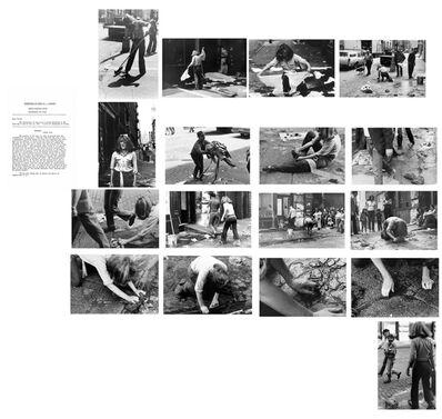 Mierle Laderman Ukeles, 'Washing, 1974', 1974 (printed in 1998)