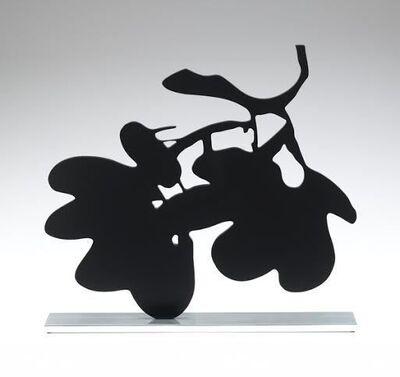 Donald Sultan, 'Black Lantern Flower, Sept. 18, 2013', 2013