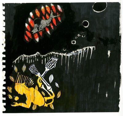 Omar Ba, 'A corriger (7)', 2009