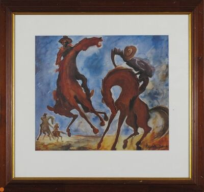 Elizabeth Durack, 'Breaking Colts ', 1935-2000