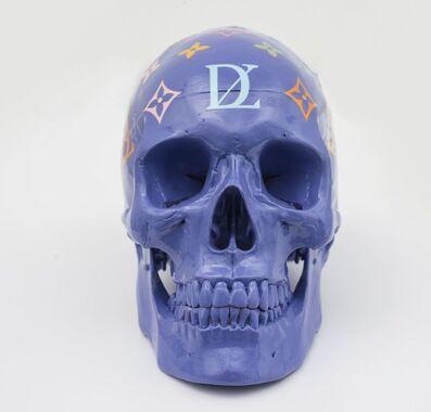 Zevs, 'LDV Skull (Purple)', 2011