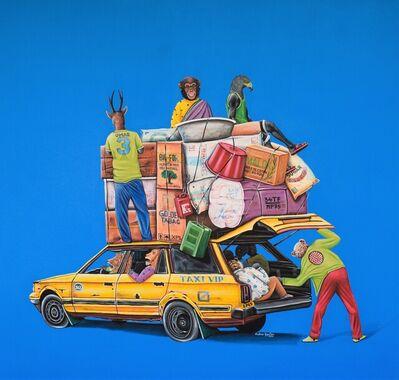 Abdias Ngateu, 'Taxi VIP', 2021