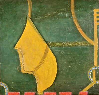 Claude Carone, 'Green & Ocher Composition', 2018