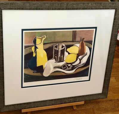Georges Braque, 'Still Life With Lemons and Pipe', 1924