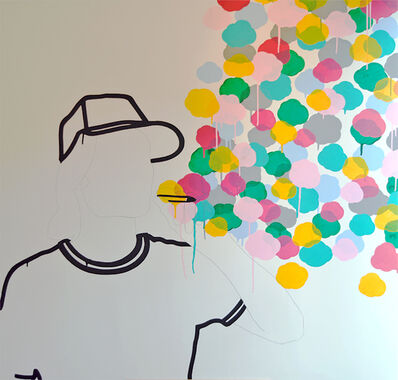 """Skoya Assemat-Tessandier, '""""Le fumeur de rêves"""", No Hope for us Dreamers? #V', 2010"""