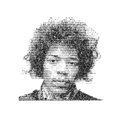 David Hollier, 'Jimi Hendrix (Text: Fire, Voodoo Child, Are you Experienced?)', 2017