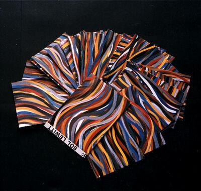 Sol LeWitt, 'Brushstrokes:Horizontal and Vertical', 1996