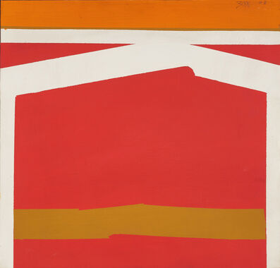 Larry Zox, 'Untitled (Abstract Geometric Painting)', 1963