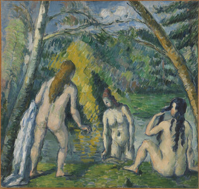 Paul Cézanne, 'Three Bathers', 1879–82
