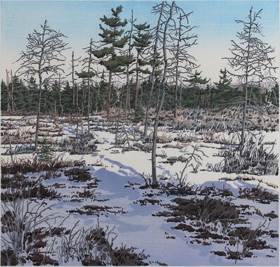 Neil G. Welliver, 'Little Marsh', 1985-1986