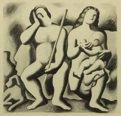 Emil Bisttram, 'The Family', 1932