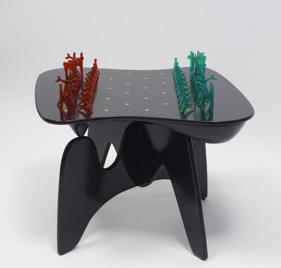 Isamu Noguchi, 'Chess Table and Pieces', 2006