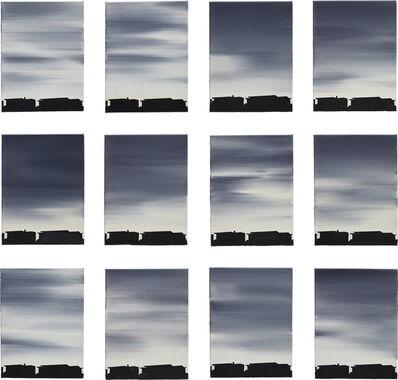 Rafał Bujnowski, 'Clouds (1-12)', 2004