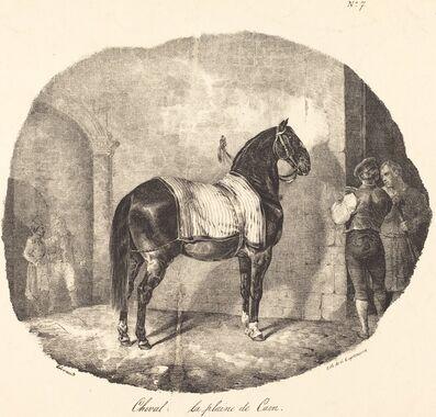 Théodore Géricault, 'Cheval de la plaine de Caen', 1822