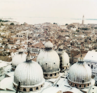 Joshua Jensen-Nagle, 'St. Marks Domes with Venice Background'