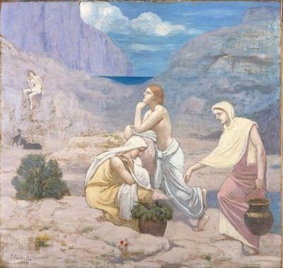 Pierre Puvis de Chavannes, 'The Shepherd's Song', 1891