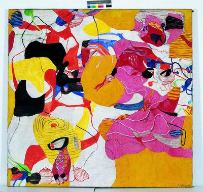 Helmut Sturm, 'Rosenrot', 1963