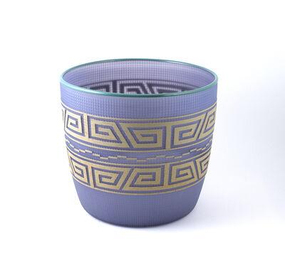 Preston Singletary, 'Lavender/Green Basket', 2018