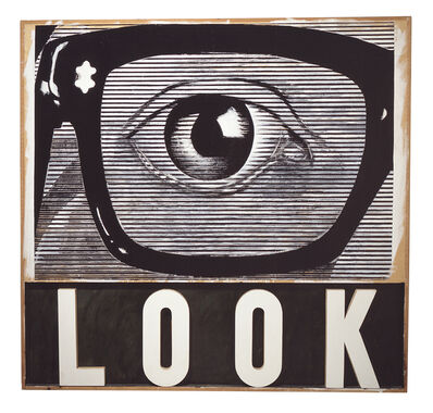 Joe Tilson, 'Look!', 1964