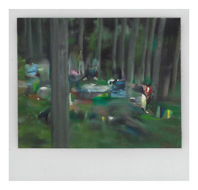 Martí Cormand, 'Family picnic in the Woods', 2019