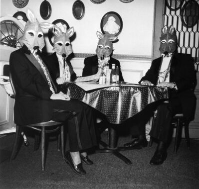 Rosalind Solomon, 'Foxes' Masquerade, New Orleans, Louisiana', 1993-1994