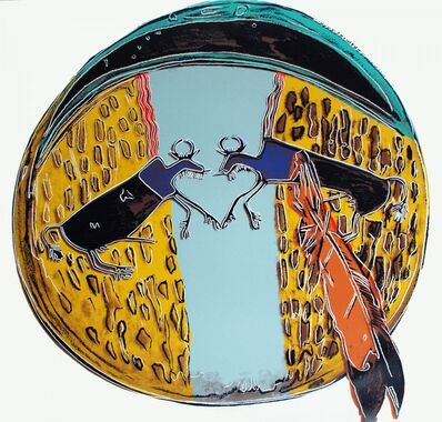 Andy Warhol, 'Cowboys and Indians - Plains Indian Shield (FS.II.382)', 1986