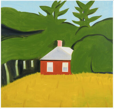 Alex Katz, 'Red House, AP 19/20', 2016