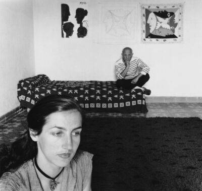 Robert Doisneau, 'Pablo Picasso et Françoise Gilot', 1952