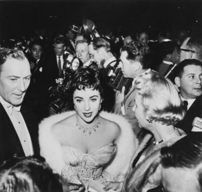 Getty Images Archives, 'Taylor Arrives', 1954
