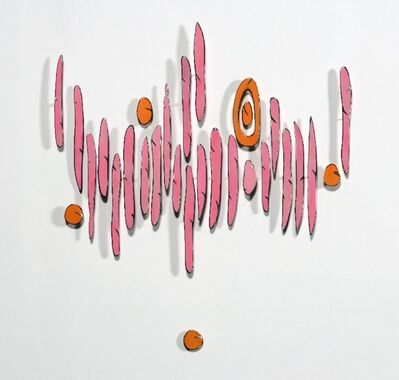 Carolina Sardi, 'Bright Pink and Orange Association', 2008