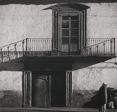 Brett Weston, 'Street Scene, Mexico', 1973